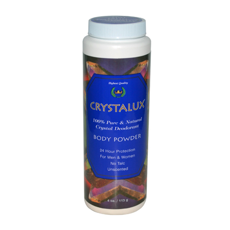 Crystalux Body Powder