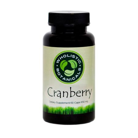 Wholistic Botanicals Cranberry